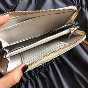 Michael Kors Bags - white michael kors wallet